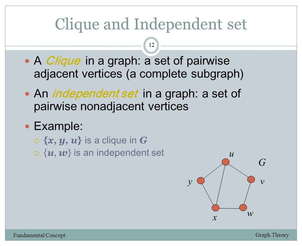independent set Independent set may refer to: linearly independent, of a set of vectors in a vector space independent set of elements of a matroid see matroid#independent sets.