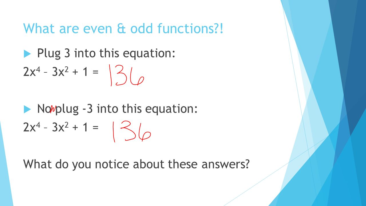 worksheet Even Or Odd Function Worksheet even and odd functions madelinemontavon cmswiki wikispaces net what are functions