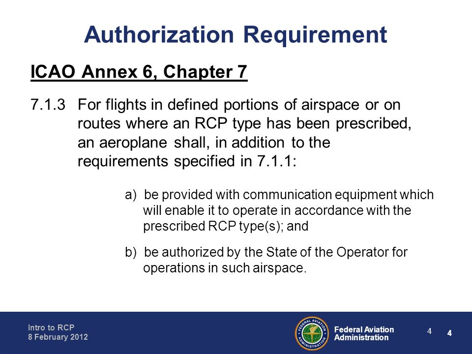 Authorization Requirement