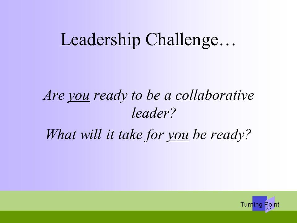 Leadership Challenge…