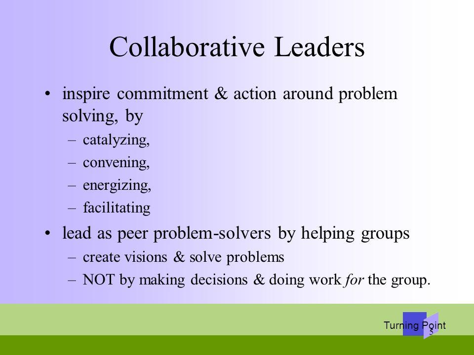 Collaborative Leaders