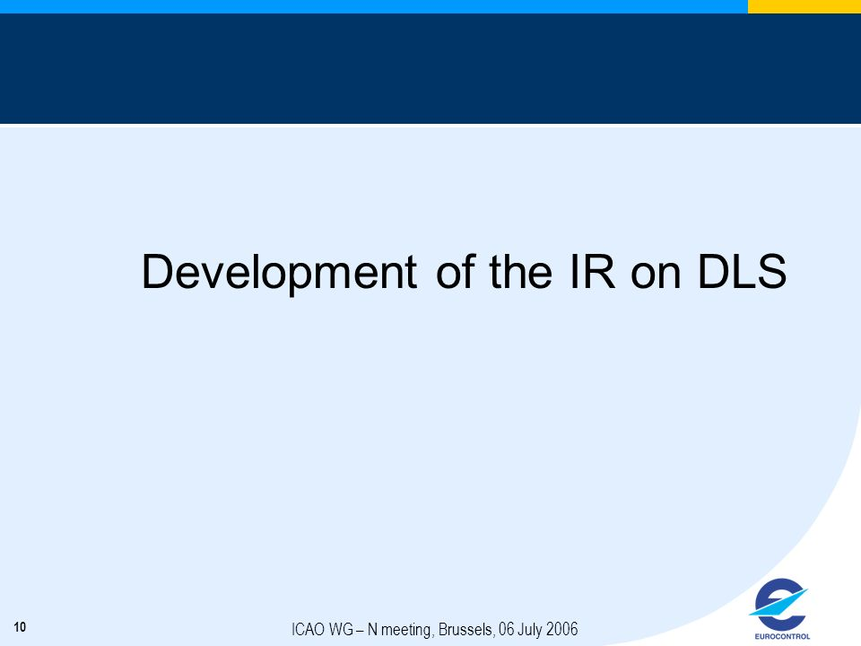 Development of the IR on DLS