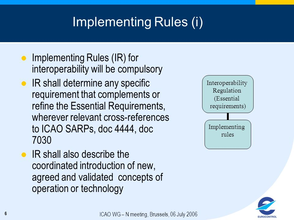 Implementing Rules (i)