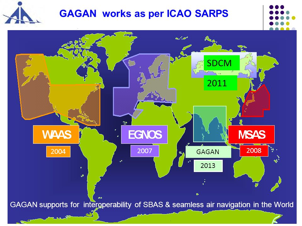 GAGAN works as per ICAO SARPS