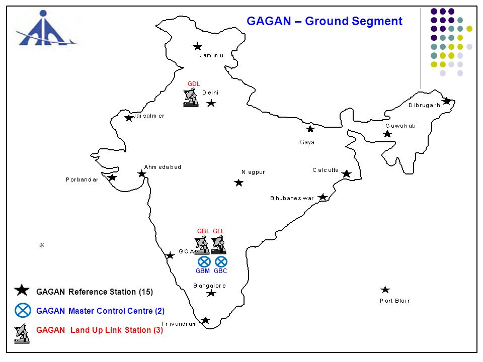 GAGAN – Ground Segment * GAGAN Reference Station (15)