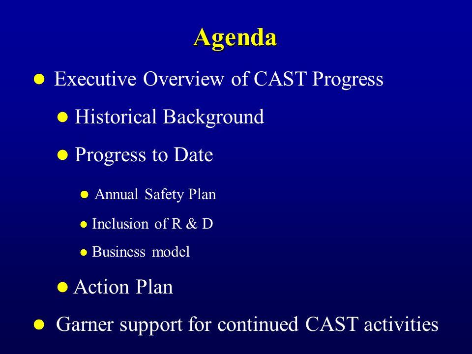 Commercial Aviation Safety Team (CAST) Plan & Metrics