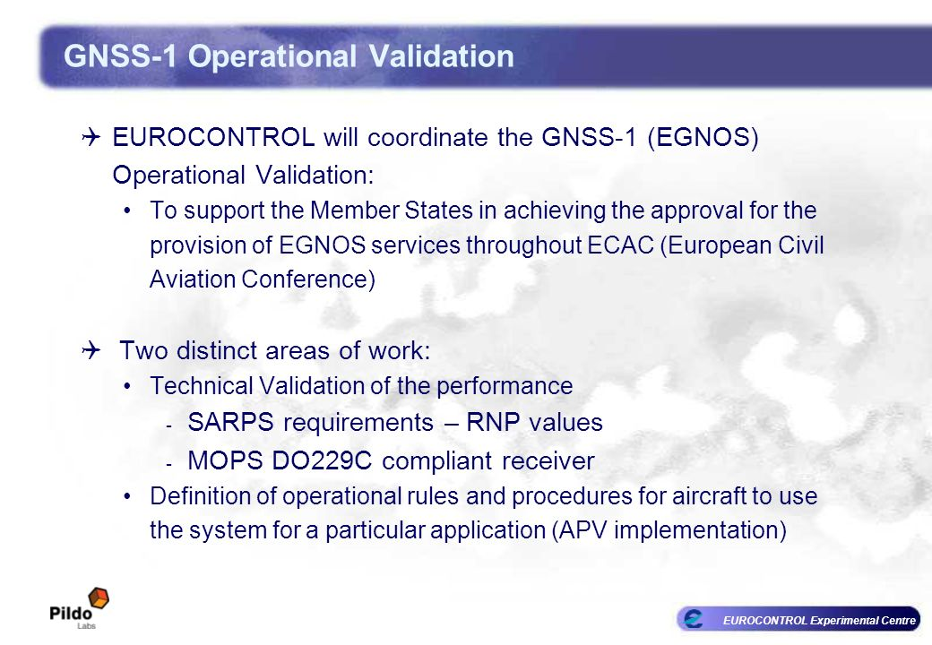 GNSS-1 Operational Validation