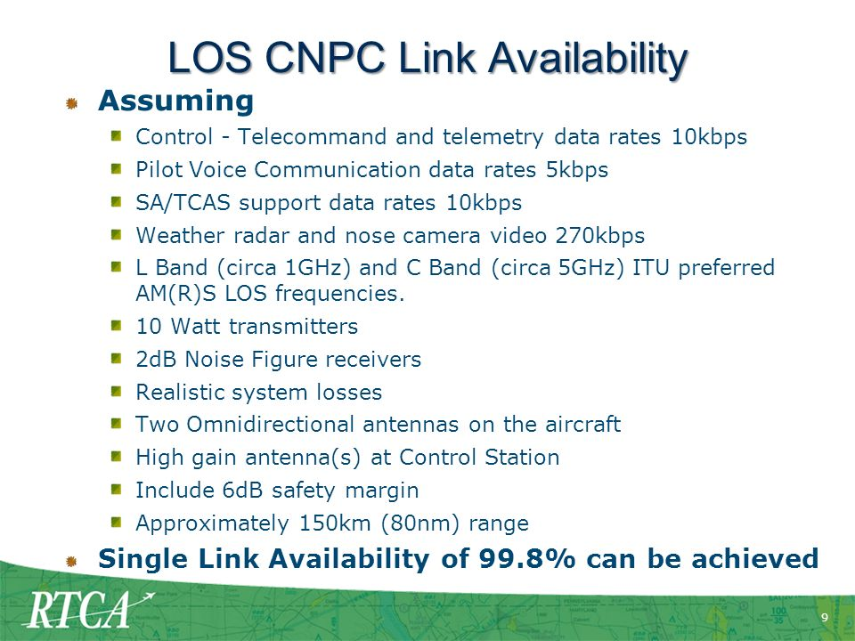 LOS CNPC Link Availability