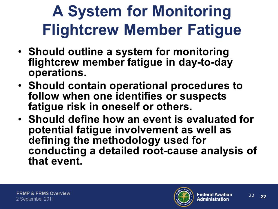 A System for Monitoring Flightcrew Member Fatigue