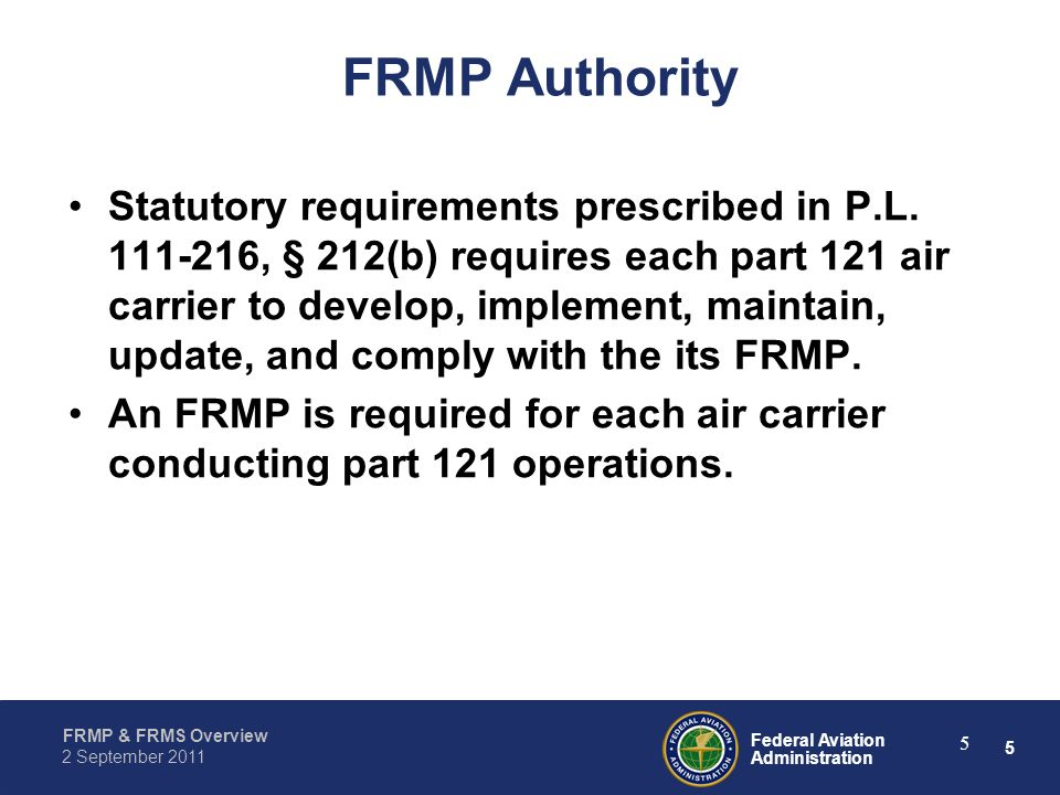 FRMP Authority