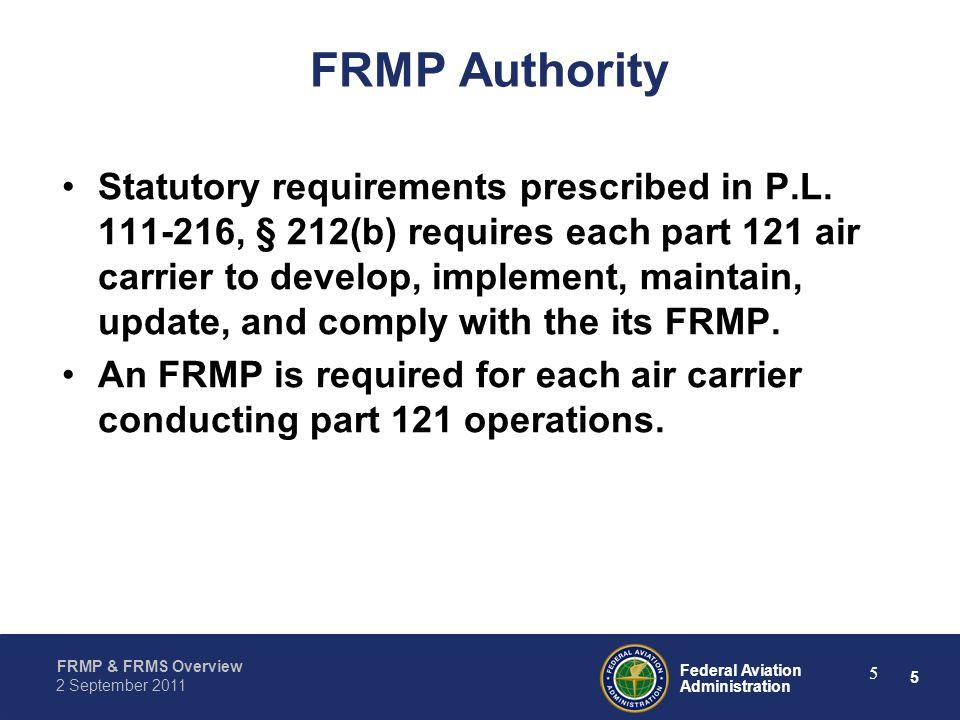 FRMP Authority