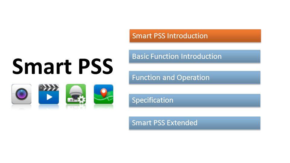 Smart pss video wall