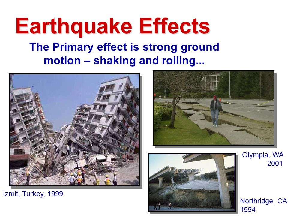 earthquake and its effects pdf