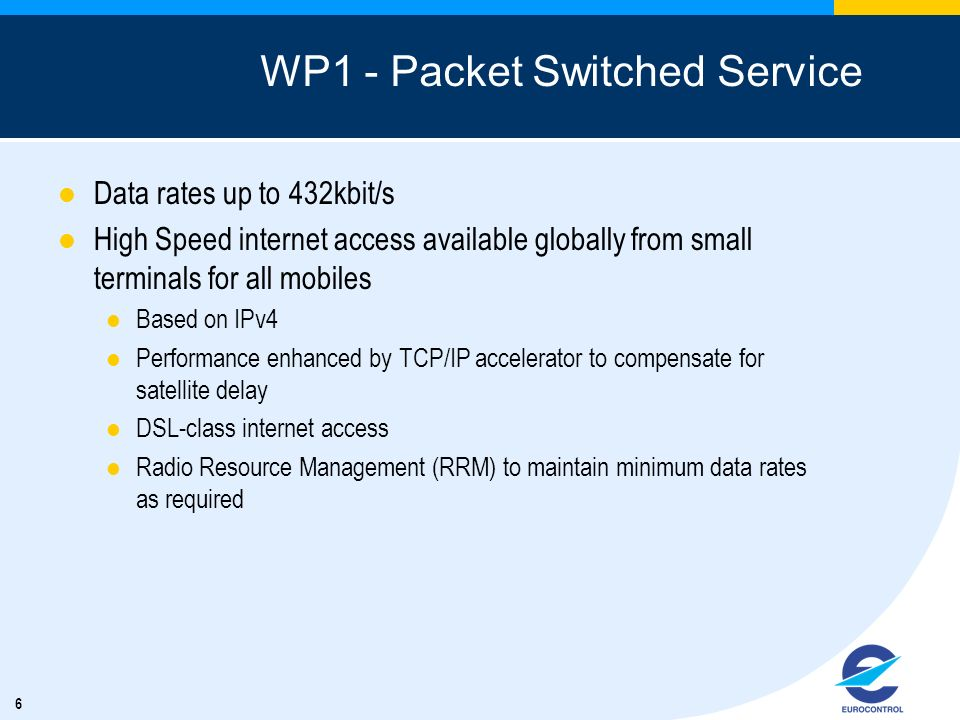 WP1 - Packet Switched Service