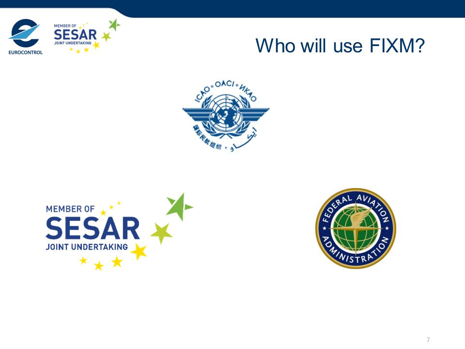 28/03/2017 Who will use FIXM