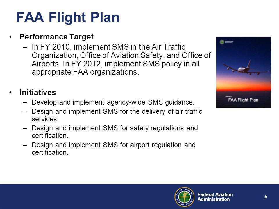FAA Flight Plan Performance Target