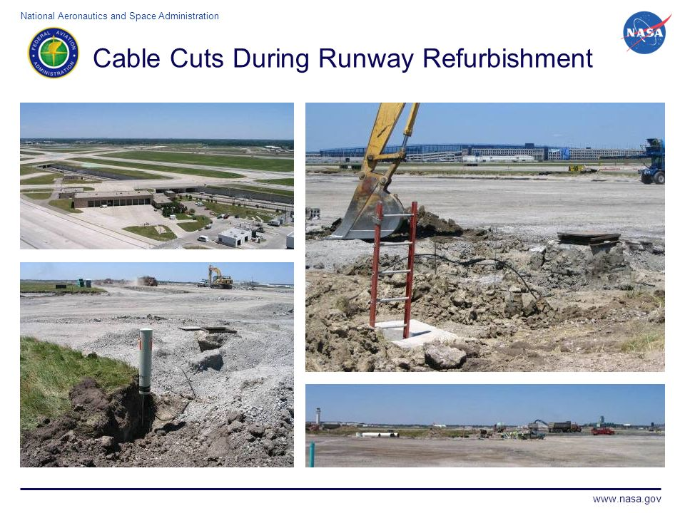 Cable Cuts During Runway Refurbishment