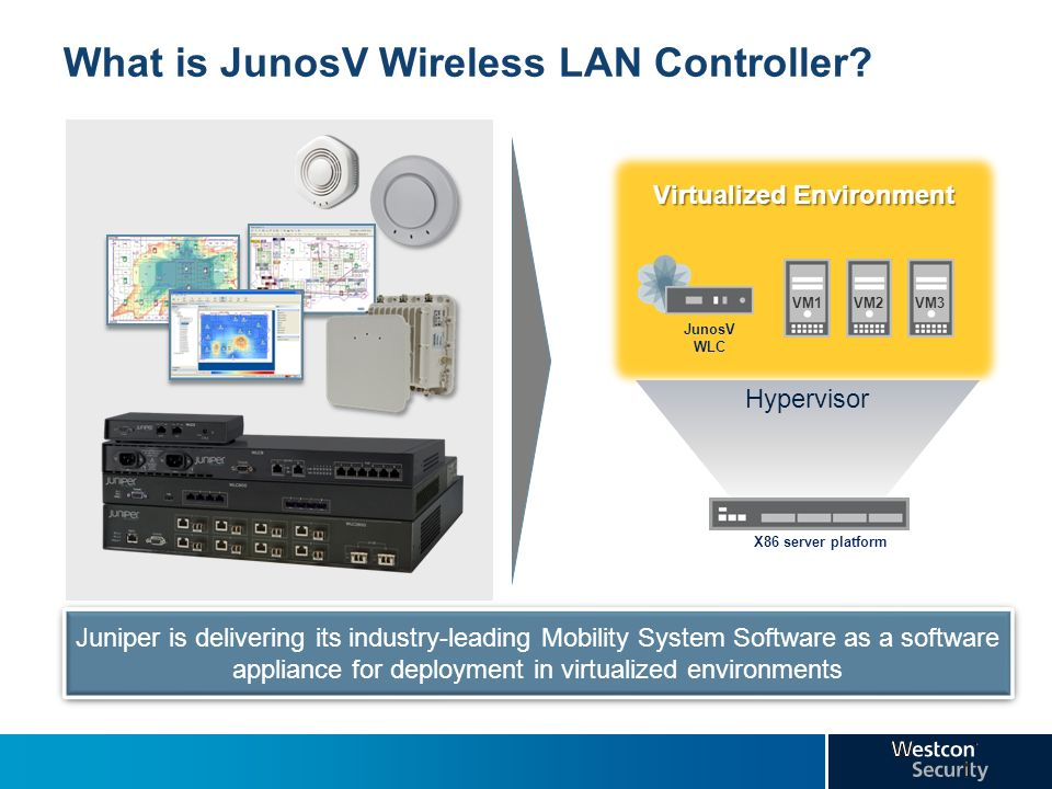 What is JunosV Wireless LAN Controller