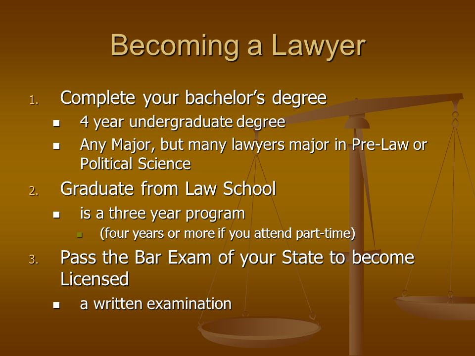 Lawyers The Career Path Ppt Download