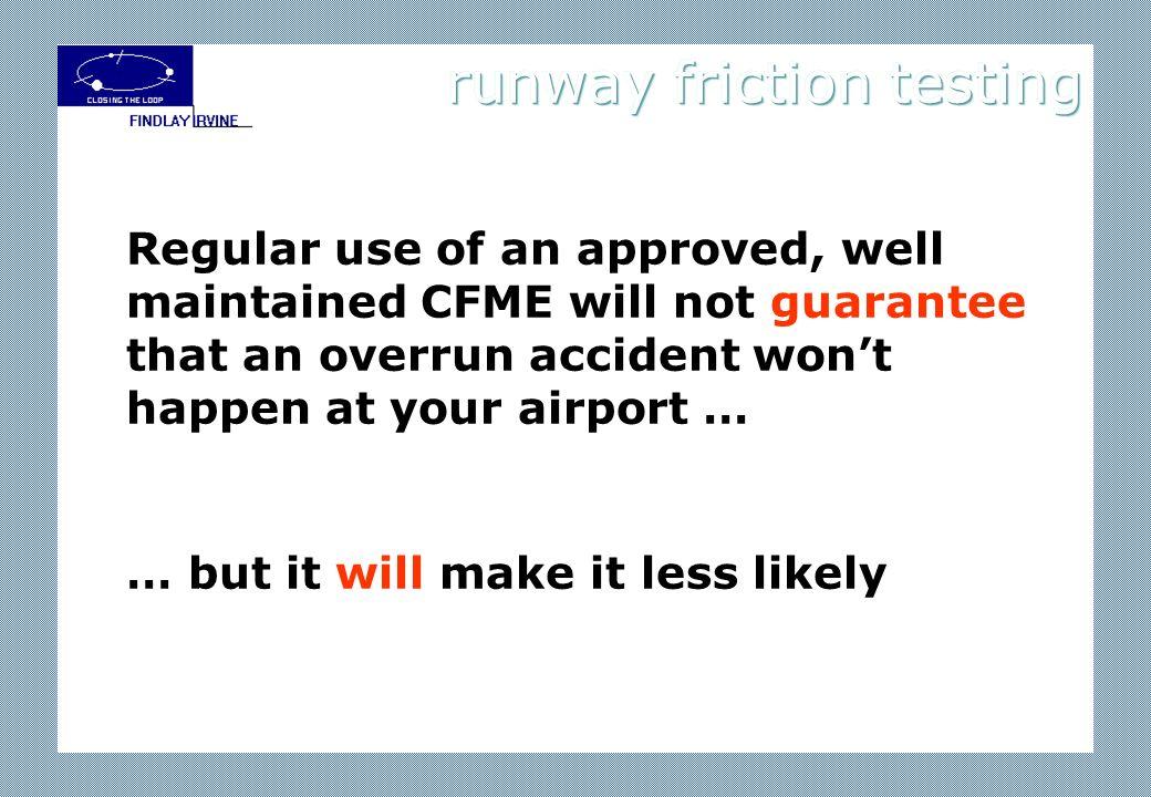 runway friction testing