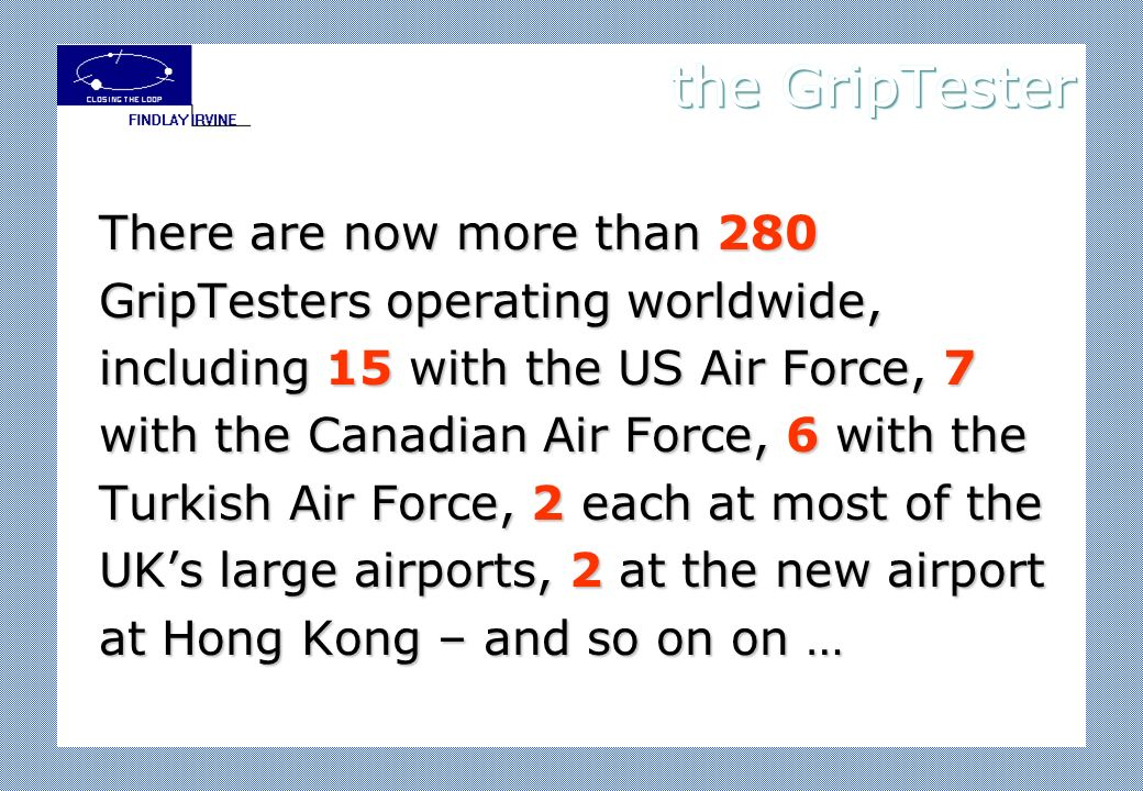 the GripTester