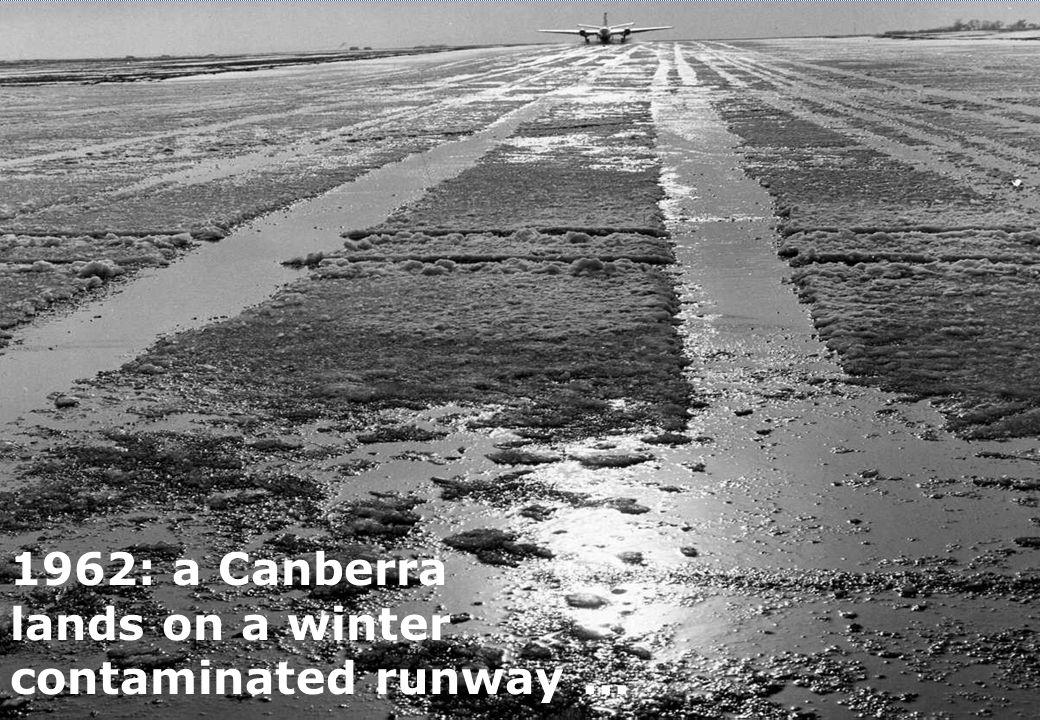 runway friction testing: history