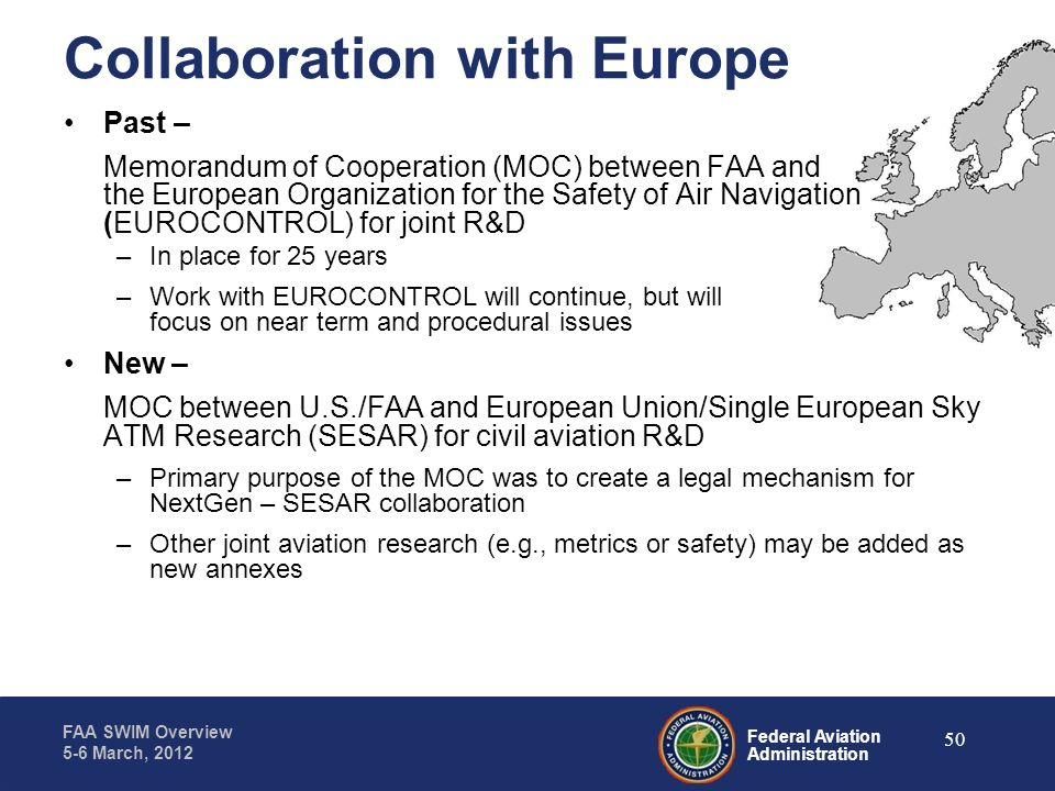 Collaboration with Europe