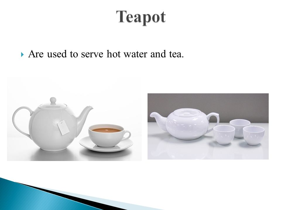 how to serve hot water for tea