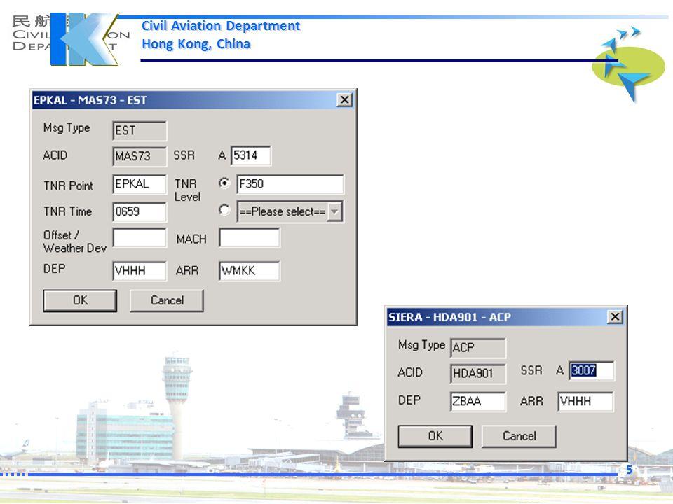 Civil Aviation Department Hong Kong, China