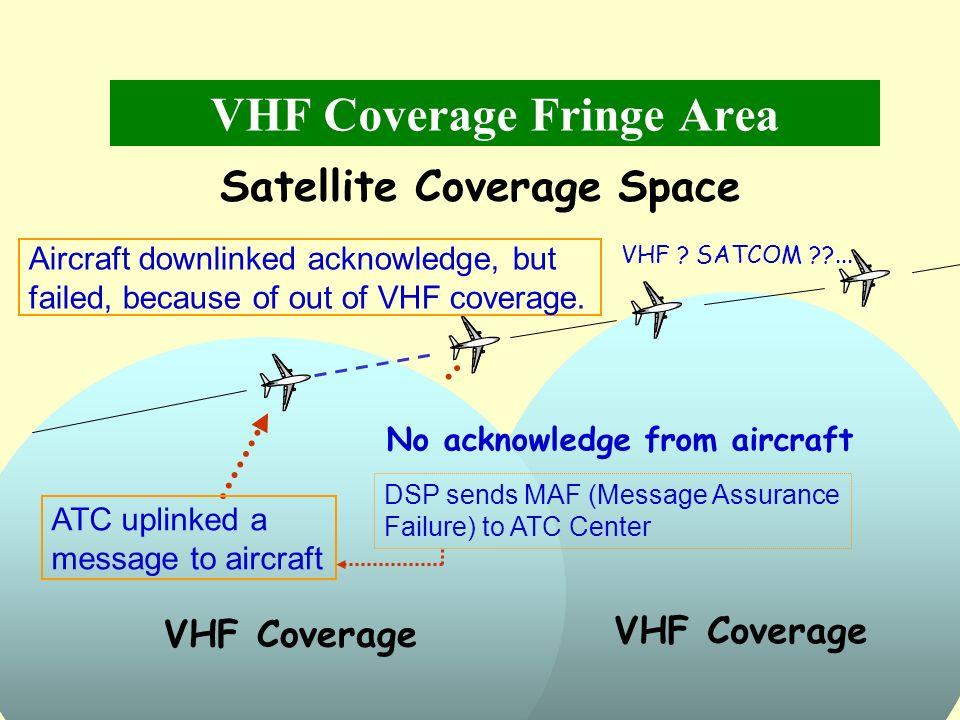 VHF Coverage Fringe Area