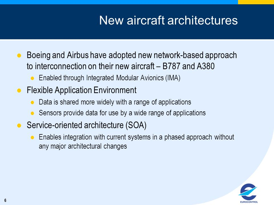 New aircraft architectures