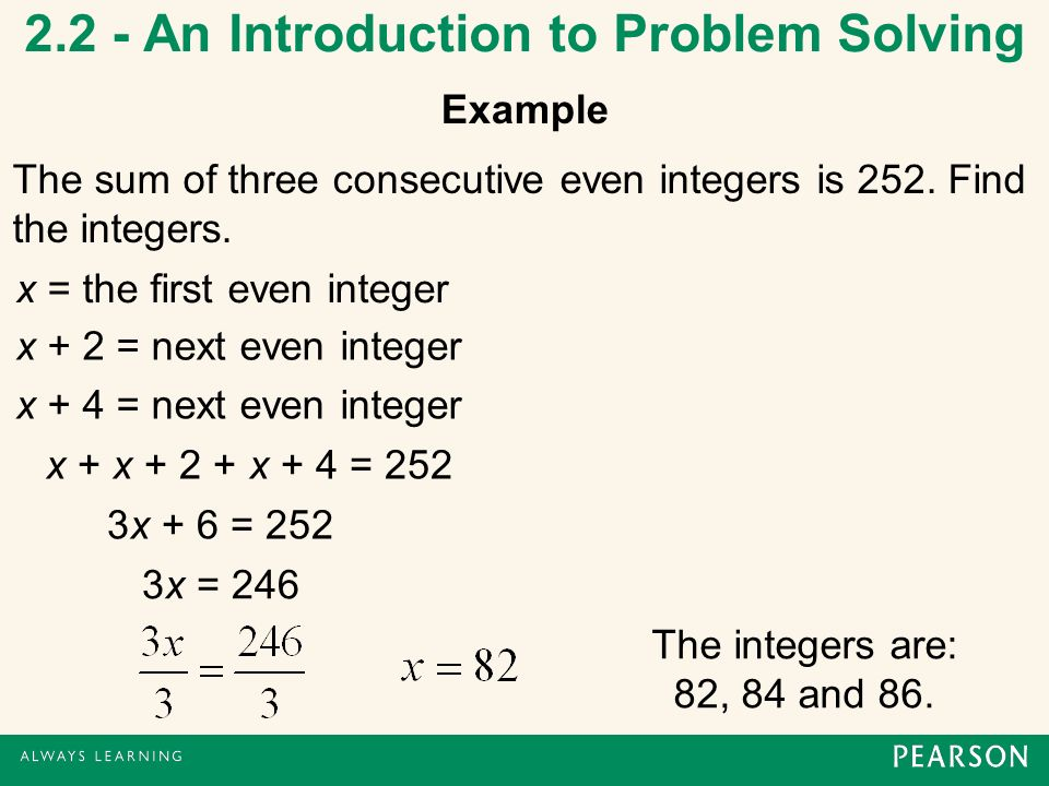 an introduction to the x equation Solve your equations with interactive calculators get answers for linear,  polynomial, trigonometric, or a system of equations, and solve with parameters.