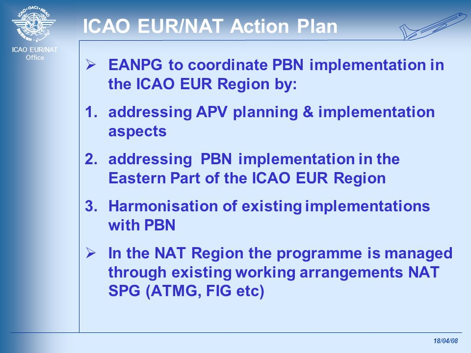 ICAO EUR/NAT Action Plan