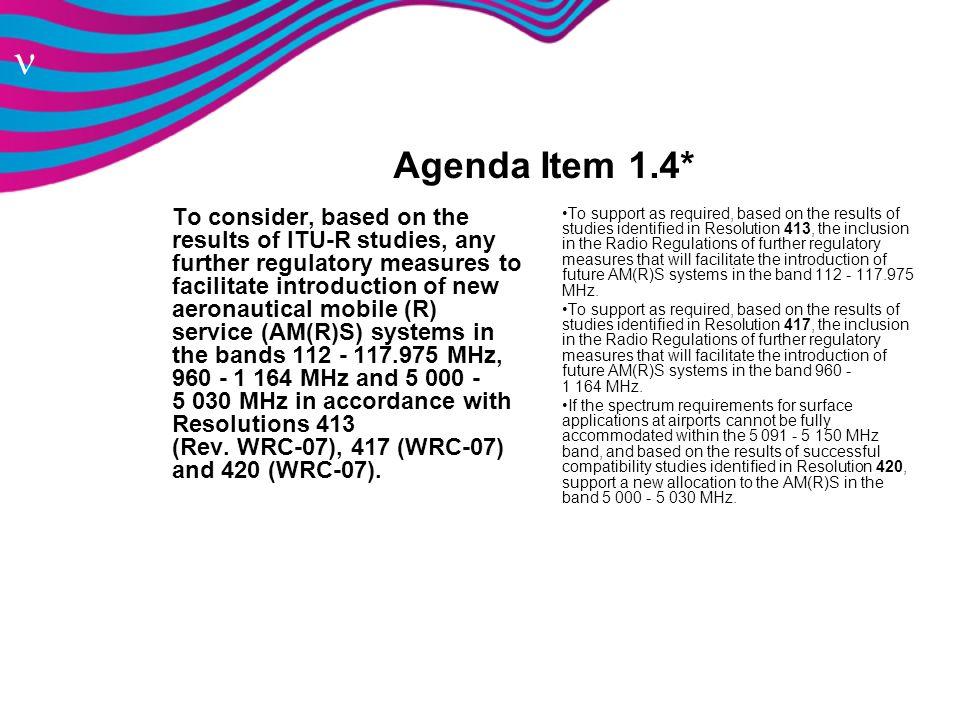 Agenda Item 1.4*
