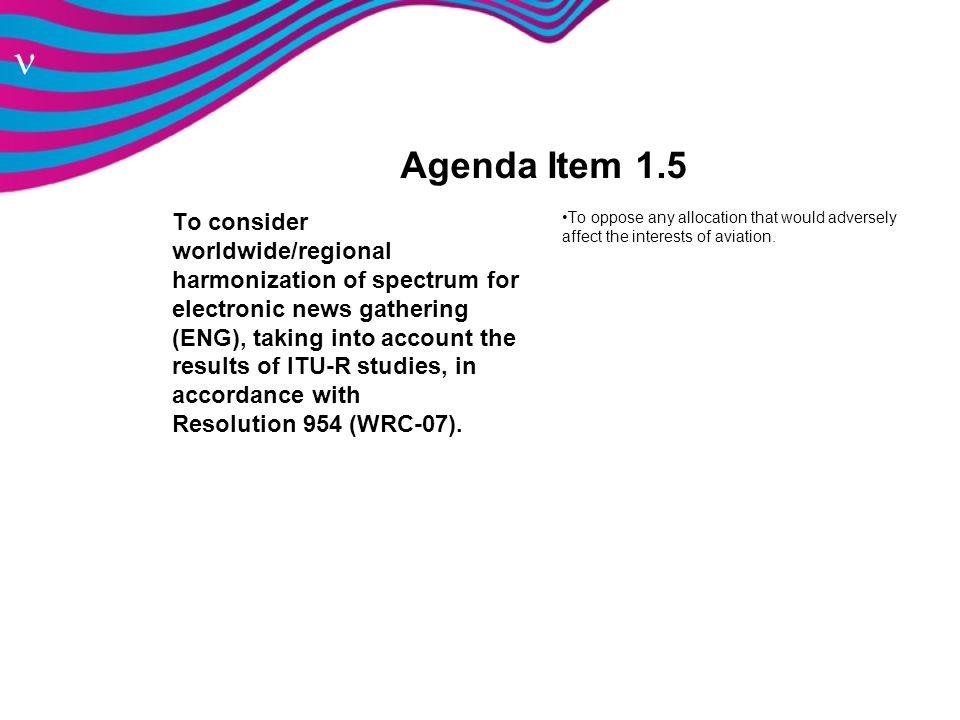 Agenda Item 1.5