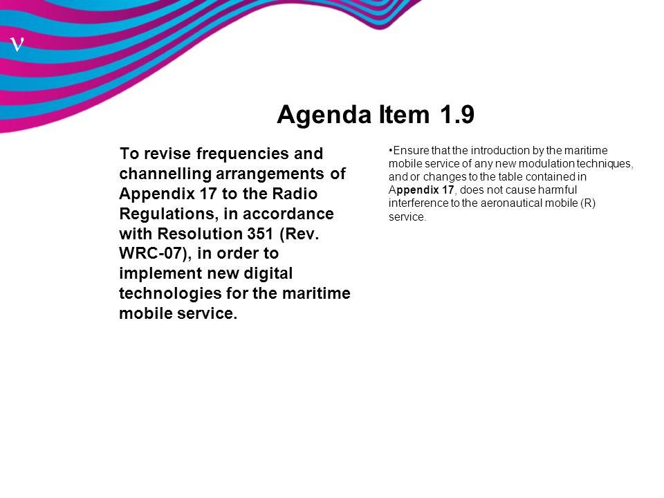 Agenda Item 1.9