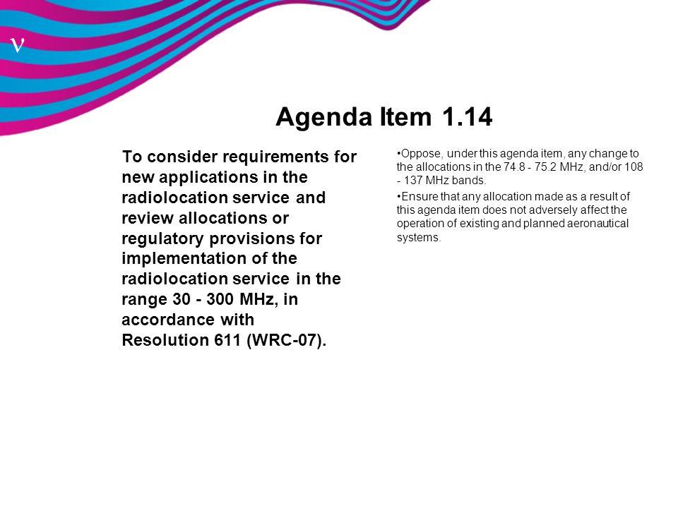 Agenda Item 1.14