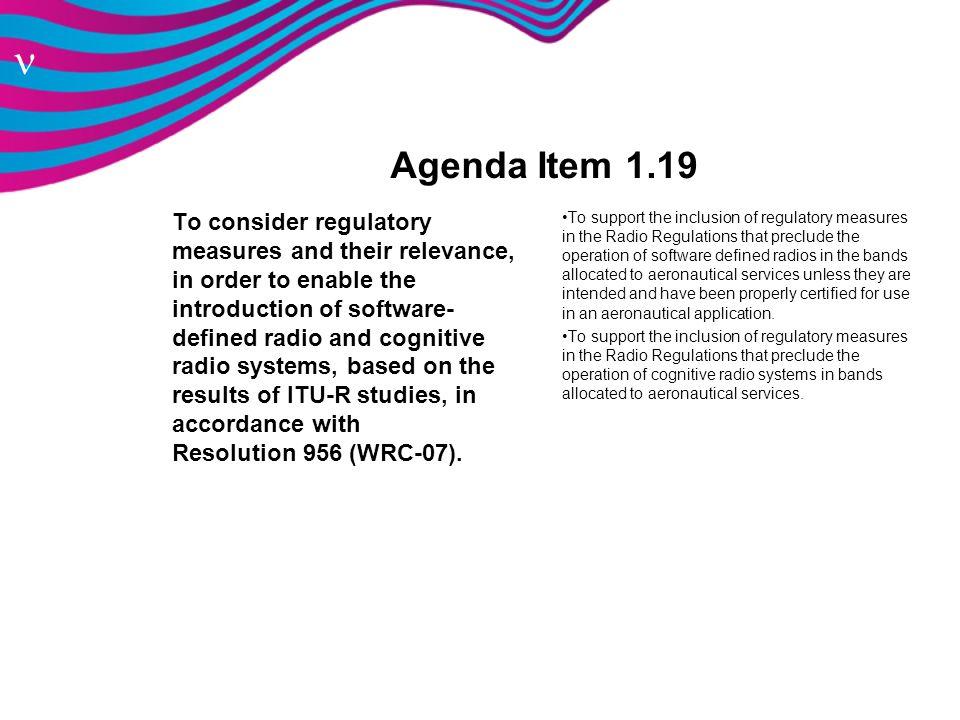 Agenda Item 1.19