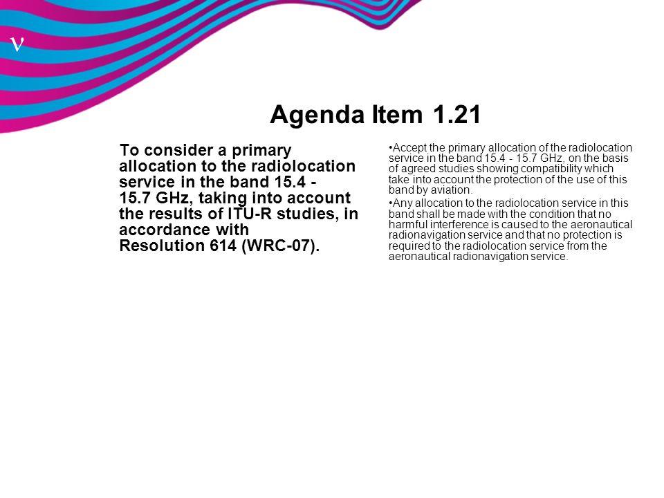 Agenda Item 1.21