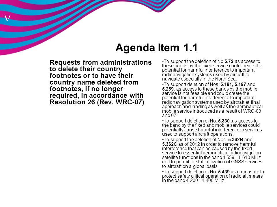 Agenda Item 1.1