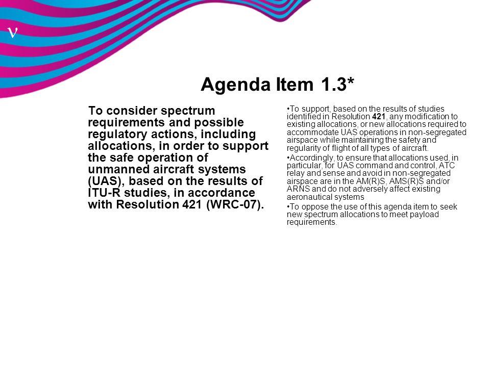 Agenda Item 1.3*