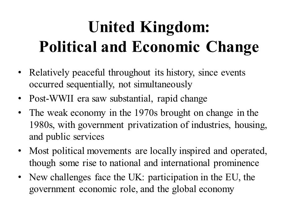 a history of economy in united kingdom A founding member of the world bank, the united kingdom supports multilateral efforts to promote human and economic development, reduce poverty, and boost shared prosperity around the world.