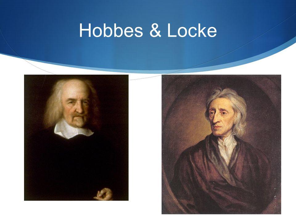 Hobbes & Locke