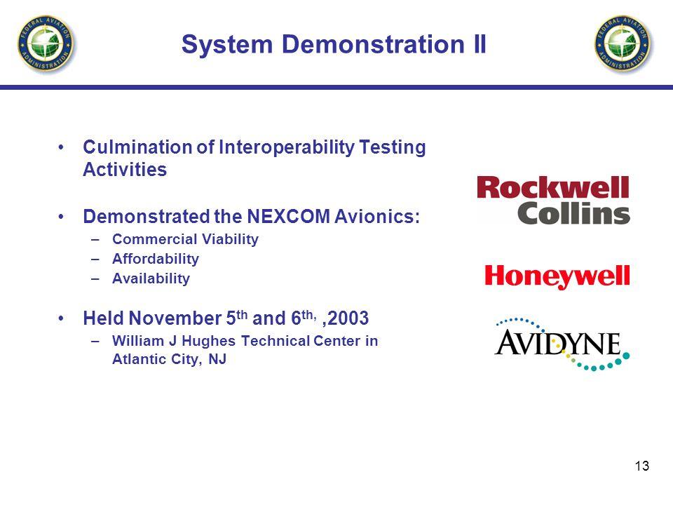 System Demonstration II