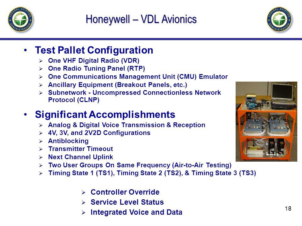 Honeywell – VDL Avionics