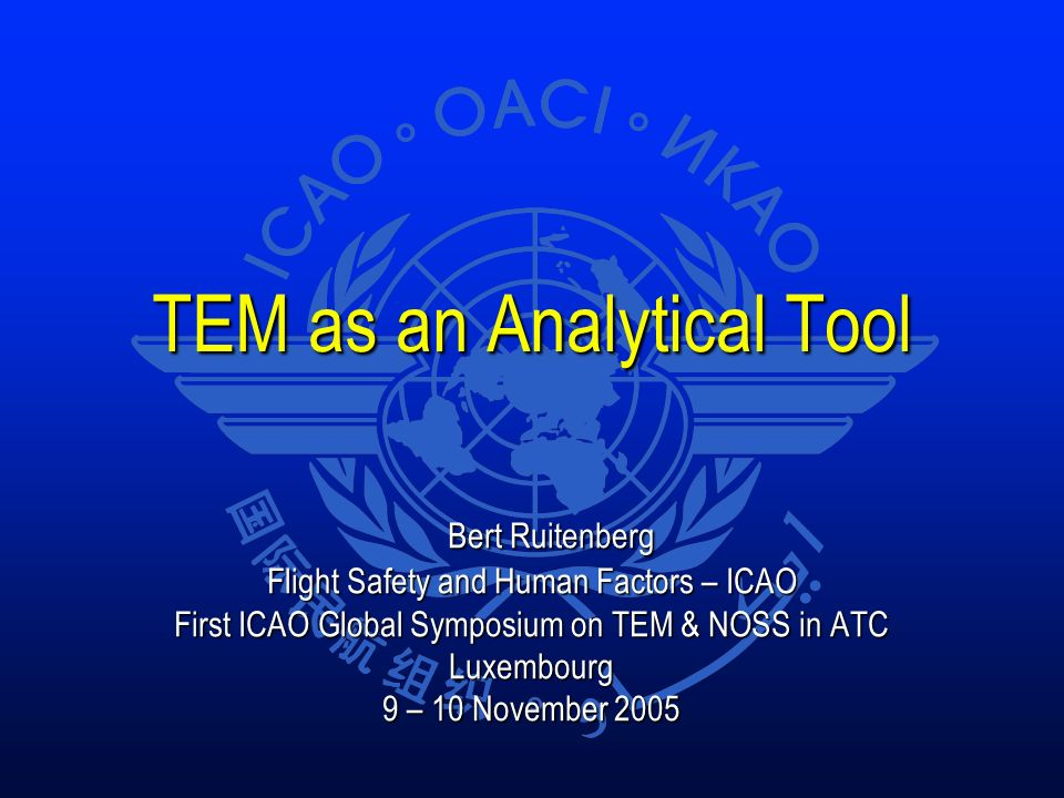 TEM as an Analytical Tool