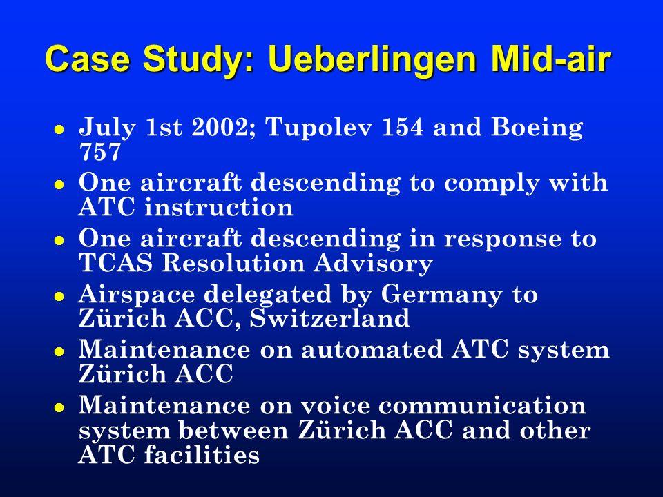 Case Study: Ueberlingen Mid-air