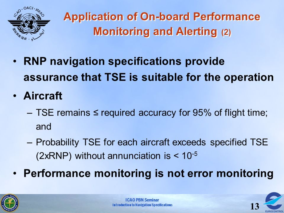 Application of On-board Performance Monitoring and Alerting (2)