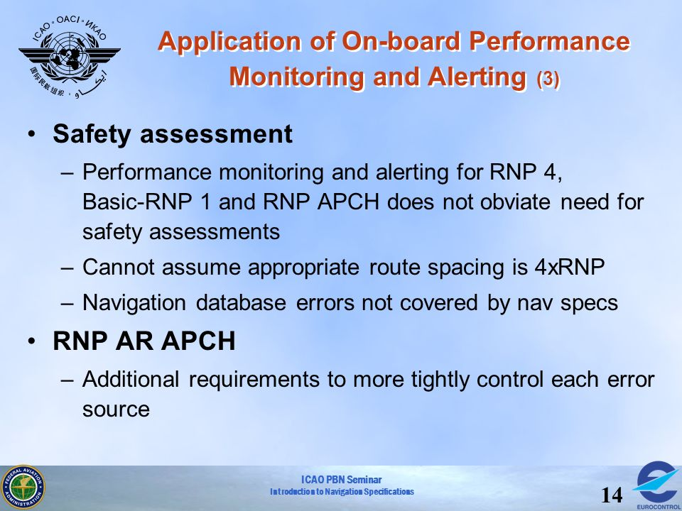 Application of On-board Performance Monitoring and Alerting (3)
