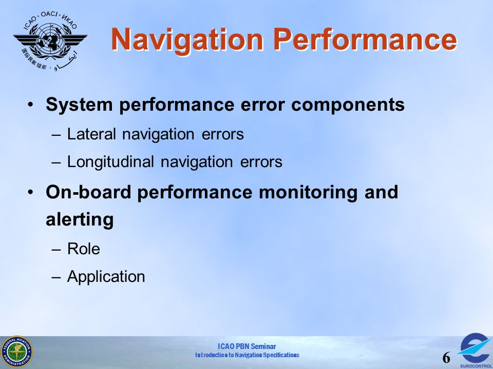 Navigation Performance